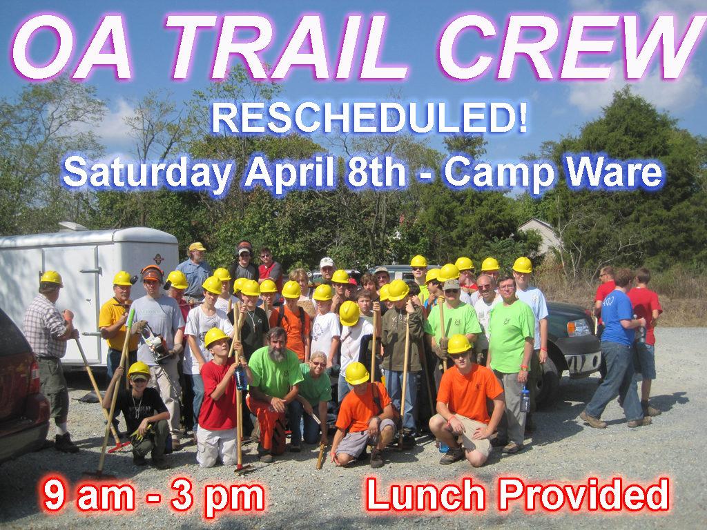 trail crew april 2017